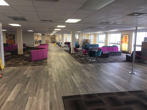 Durham Tees Valley Airport Departures Lounge