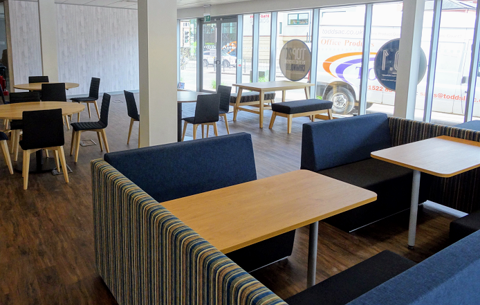 Todds derby uni student union friar gate cafetodds group for Office design derby