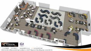 Humberside Airport Departures Lounge Refurbishment