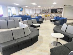 8Humberside Airport Departures Lounge Refurbishment